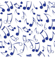 Music note sound texture vector image vector image