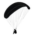 paragliding - vector image
