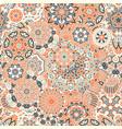 seamless pattern of geometric mandala vector image vector image