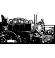 WWI Train vector image vector image