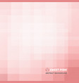 abstract of sweet pink pattern background vector image vector image