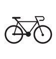 bicycle vehicle icon design vector image