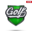 Premium symbol of Golf label vector image vector image