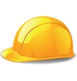 safety hard hat vector image vector image