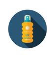 Sun Cream in Spray flat icon Summer Vacation vector image vector image