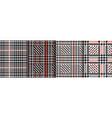 check fashion seamless patterns set repeat vector image