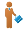 Child Manager Gradient Icon vector image vector image