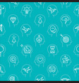 mind process icon pattern 3 vector image vector image