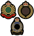 Royal badge emblem