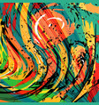 abstract geometric colored background in the vector image vector image