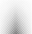 Black and white square pattern background design vector image vector image