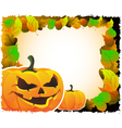 Bright Halloween background vector image