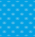 gmo free pattern seamless blue vector image vector image