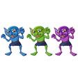 goblins vector image