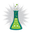 isolated chemistry potion icon vector image