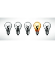 Light bulb the concept of idea vector | Price: 1 Credit (USD $1)