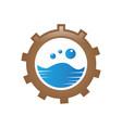 marine logo vector image