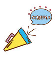 production tool in the short film scene vector image vector image