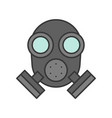 respirator police related icon editable stroke vector image