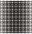 Seamless Black and White Circle Lattice vector image vector image