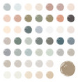 watercolor blobs stains splashes vector image vector image