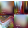 Abstract colorful blurred smooth backgrounds set E