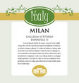 designe page or menu for italian products it can vector image vector image
