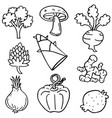 doodle of vegetable object art