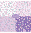 Hand drawn seamless pattern with cute