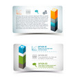 infographics elements banners vector image vector image