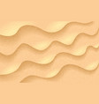 sand realistic texture beach sand background vector image