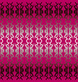 seamless burgundy red abstract geometric pattern vector image vector image
