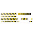 set seamless tapes for restriction vector image