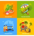 Thailand Concept Set vector image