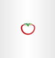 tomato icon logo sign vector image vector image