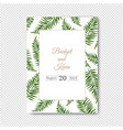 wedding invitation isolated transparent background vector image vector image