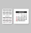 calendar 2020 design template