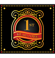 guarantee ribbons vector image vector image