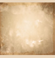 old brown paper vintage paper background vector image vector image