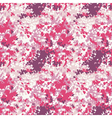 Pink camouflage texture vector image