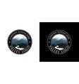 valley logo design template vector image vector image