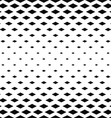 Abstract monochrome rhombus pattern background vector image vector image