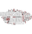 are online ads worth the cost text background