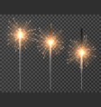 bengal light christmas sparkler lights diwali vector image vector image