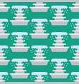 fountain seamless pattern vector image vector image