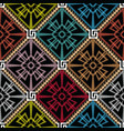 geometric abstract greek seamless pattern vector image vector image