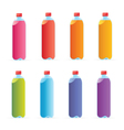Multicolored water bottles vector | Price: 1 Credit (USD $1)