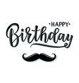 a happy birthday invitation vector image vector image