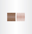 brown pattern background design element vector image vector image