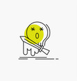 death frag game kill sword line icon vector image vector image
